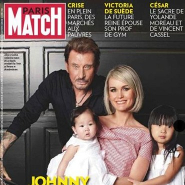 Johnny Hallyday Paris Match