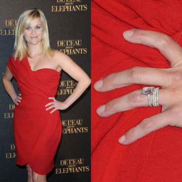 Reese Witherspoon et sa bague de 4 carats