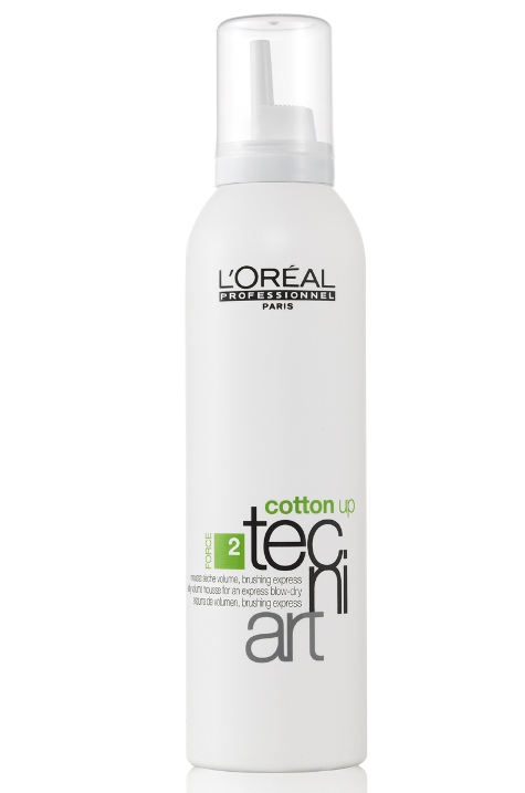 Soins cheveux volume Tecniart : Cotton up