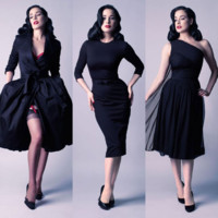Dita Von Teese lance sa collection de prêt à porter : so sexy !
