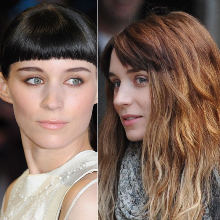 rooney mara avant apr s d couvrez sa nouvelle couleur de cheveux beaut. Black Bedroom Furniture Sets. Home Design Ideas