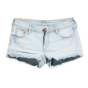 H&M Fashion Against Aids - short en jean délavé