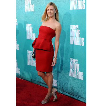 MTV Movie Awards 2012 - Charlize Theron en Lanvin