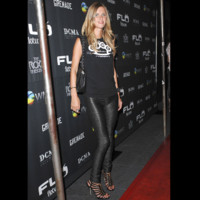 Photo : Nicky Hilton en total look black