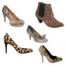 Montage shopping chaussures bestiales