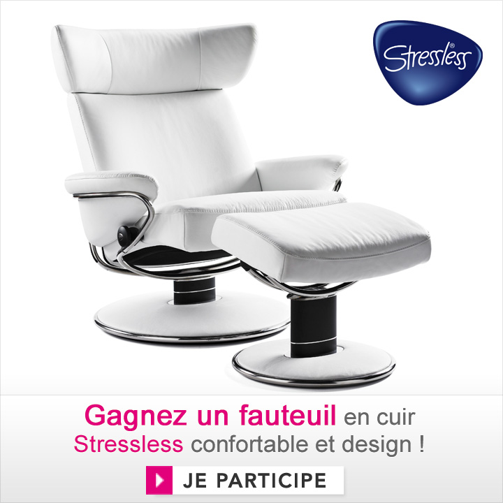 gagnez un fauteuil en cuir stressless jeux concours d co. Black Bedroom Furniture Sets. Home Design Ideas