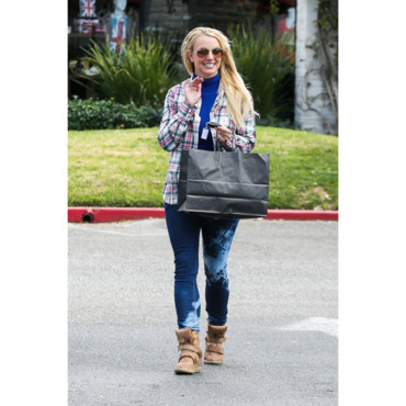 Britney Spears en plein shopping