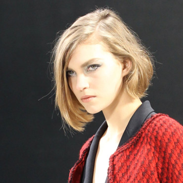 Coiffure Défilé Chanel Fashion Week Paris : la coupe au carré