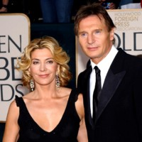 Photo : Le couple d'acteurs Natasha Richardson et Liam Neeson