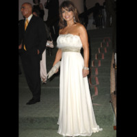 Photo : Paula Abdul dans sa robe de princesse