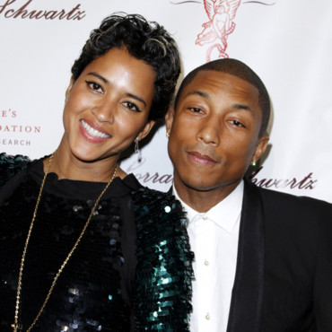 Pharrell Williams et Helen Lashichanh à New York le 29 octobre 2013