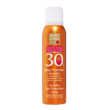 Solaire Spray Protection Invisible SPF 30 MARY COHR, 37 euros.