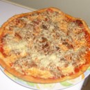 Pizza gourmande (steak haché)