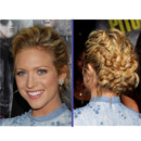 Le chignon tress de Brittany Snow