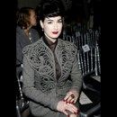 Les stars à la Fashion Week de Paris : Dita Von Teese