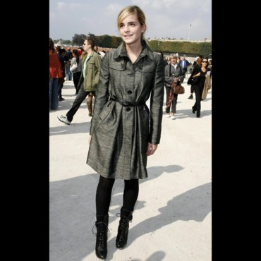Les stars à la Fashion Week de Paris : Emma Watson