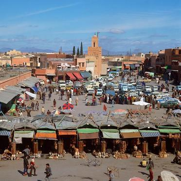 Marrakech - Copyright © <Jupiter Images>