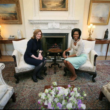 Michelle Obama et Sarah Brown à Londres