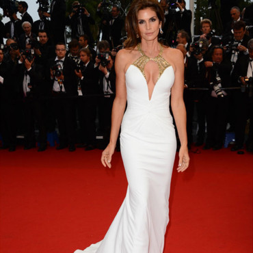 Cindy Crawford, en mai 2013 à Cannes.