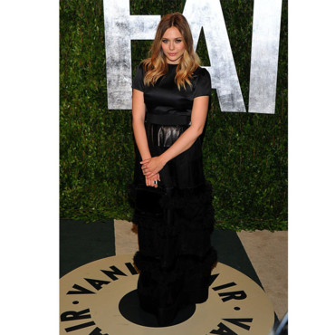 Ashley Olsen en Dior Couture à la soirée Vanity Fair Oscars 2012