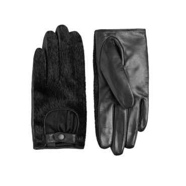 Les gants mi-cuir mi-fourrure &Other Stories, 35 euros
