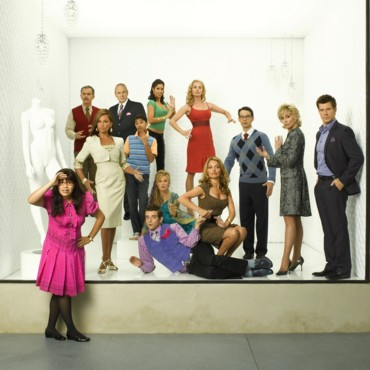 people: Ugly Betty : America Ferrera, Judith Light, Eric Mabius, Michael Urie, Vanessa Lynn Williams