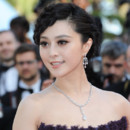 Chignon de star Fan Bing Bing à Cannes