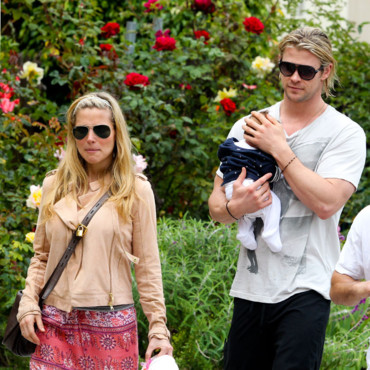 Elsa Pataky Chris Hemsworth et leur fille