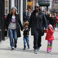 Photo : Heidi Klum et Seal en famille