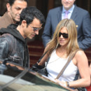Justin Theroux et Jennifer Ansiton à Paris en juin 2012
