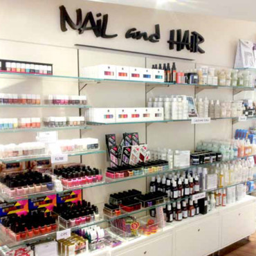 Nail and hair au Publicis Drugstore