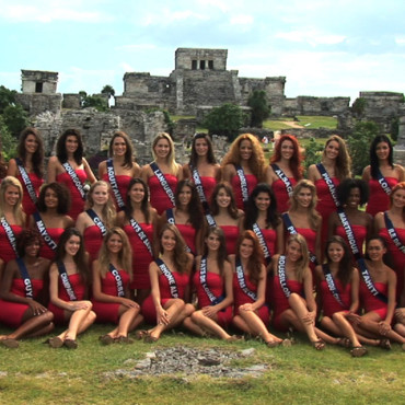 Photo de groupe Election Miss France 2012