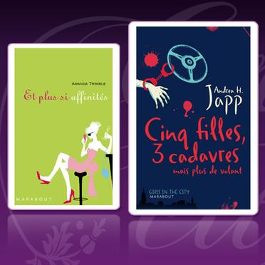 80 livres de la collection ''Girls in the city'' à gagner !