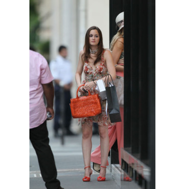 Gossip Girl à Paris - Leighton Meester en robe hippi chic