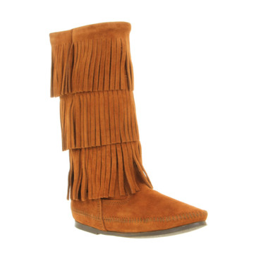 Bottes à franges Minnetonka sur Office.uk, 145 euros