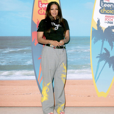 Janet Jackson lors des Teen Choice Awards de 2004