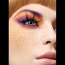 25 ans Make Up For Ever : oeil multicolore