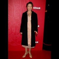 Photo : Catherine Frot sur le tapis rouge des César