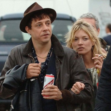 people : Kate Moss et Jamie Hince