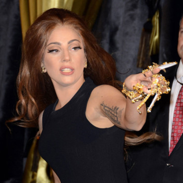 Lady Gaga lance son nouveau parfum, 'Fame' chez Harrods, Knightsbridge, Londres. Photo prise le 7 octobre 2012.