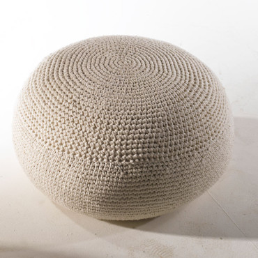 Pouf tricot 3 suisses meuble de salon contemporain for Pouf contemporain