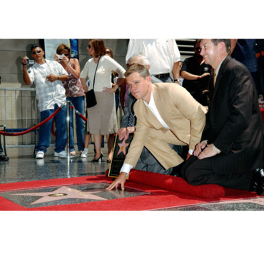 Matt Damon Walk of Fame
