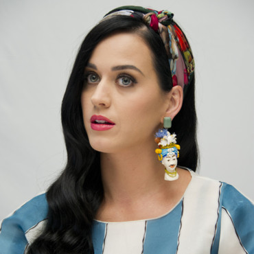 Katy Perry au Ritz-Carlton de Cancun, le 22 avril 2013, pour les Schroumpf 2