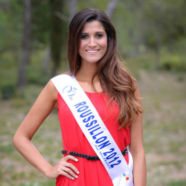 Candidates Miss France 2013 : Marilou Cubaynes, Miss Roussillon 2012