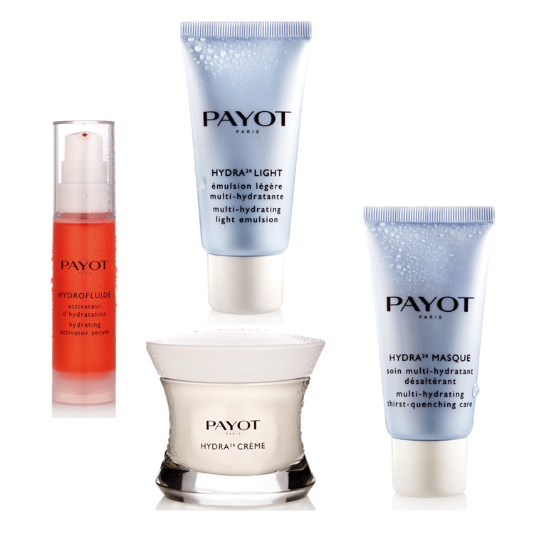 Soins Payot : crèmes hydratantes