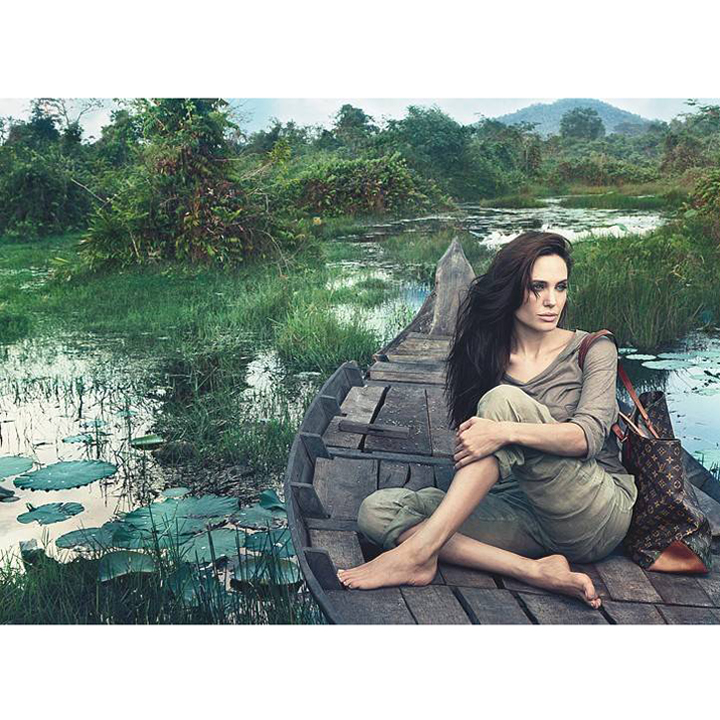 Angelina Jolie au Cambodge pour Louis Vuitton