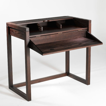console bureau wenge. Black Bedroom Furniture Sets. Home Design Ideas