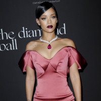 Rihanna lors de l'inauguration du Diamond Ball le 11 décembre 2014 à Los Angeles