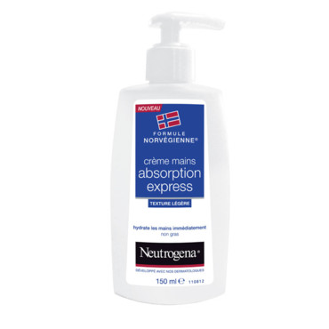 crème mains absorption express Neutrogena