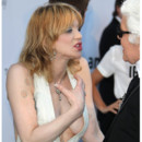 Courtney Love et Karl Bêtisier Cannes 2011